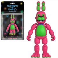 Funko Five Nights at Freddys - BLACKLIGHT BONNIE - Articlated Action Figure RARE