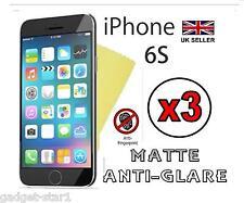 "3x Hq Anti Glare Mate Protector De Pantalla Tapa Protector Film Apple Iphone 6s 4.7 """