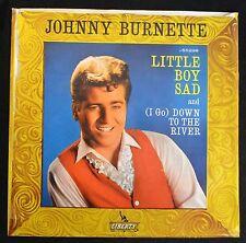 PICTURE SLEEVE Johnny Burnette Liberty 55298 Little Boy Sad