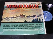 STAGECOACH Norman Rockwell Cv OST LP 1966 JERRY GOLDSMITH Mainstream Ann-Margret