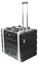 ABS Flight Case [7U TROLLEY] 19'' equipment rack for DJ gear mixing desks etc