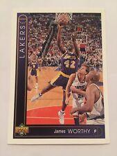 1993 Upper Deck NBA Basketball Card - Los Angeles Lakers #142 James Worthy