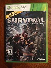 Cabela's Survival: Shadows of Katmai (Microsoft Xbox 360, 2011)