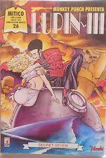STAR COMICS MITICO N.26 MONKEY PUNCH PRESENTA LUPIN III 1995