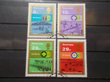GB Guernsey 1982 Commemorative Stamps~Scouts~ Fine Used Set~UK Seller