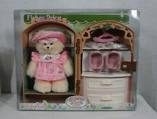 Rare! Discontinued Fisher Price Toys Briarberry Bears Carry Case New In Package