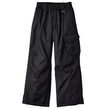 Nwt $60 Boys Zeroxposur Platinum Insulated Snow Ski Pants Black Size 8 Small S