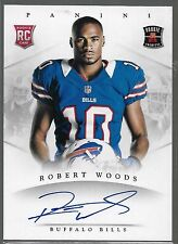 2013 Panini Rookie Premiere Robert Woods Auto Rc SSP Print Run of 50 or Less