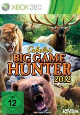 XBOX 360 Jeu Cabela's Big Game Hunter 2012 jagdspiel article neuf