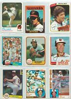 1973 TOPPS JIM PALMER CARD #160 ORIOLES ~ Plus More....1975 Mini on down!