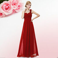 Chiffon Long Dress Evening Party Ball Gown Prom Bridesmaid 6 Size Dresses 20 UK