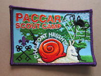 Paccar Scout Camp Chalfront Heights Cloth Patch Badge Boy Scouts Scouting L3K C