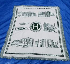 Hackensack University Medical Center Blanket Throw Green White Northwest Co USA