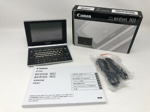 Canon Wordtank V823 Japanese Chinese English Electric Dictionary