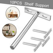 Concealed Hidden Floating Shelf Steel Metal Strong Support Brackets Wall Mounted