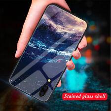 Für Huawei Mate 20 P20 Pro /Lite Luxus 3D Muster Gehärtetem Glas Case Handyhülle