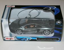 Maisto - LAMBORGHINI AVENTADOR LP700-4 (Grey) - Model Scale 1:24