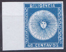 Uruguay 1856 Mi.Nr.1 (+)   Diigencia 60c,  Reproduktion