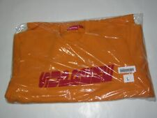 SUPREME NY Breed Crewneck Sweatshirt TANGERINE Men's Large NEW! F/W 2019 BOGO