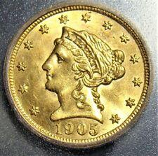 1905 gold 1/2 MS63 ICG