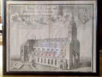 Michael Wening: St. PetersGottshauß und Pfarrkirche in München 1720