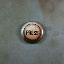 """Vintage Style Press Pinback Button 1"""" Elevator Steampunk Rusted Industrial"""