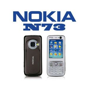 Phone Mobile Phone Nokia N73 Brown Umts Camera Bluetooth GPS