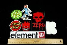 Skateboard Stickers Spitfire Element Santa Cruz Girl Independent Zero Plan B
