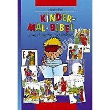 KINDER-MAL-BIBEL - Zum Ausmalen und Vorlesen - Ideal für 5-8 Jährige *TOP*NEU*