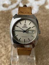 Vintage Solvil Et Titus Geneva 9247 Cal 2789 Automatic Watch