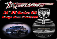 "Rigid LED 20"" SR-Series Light Bar for 04-15 Dodge Ram 2500 3500 Kit 92031 40240"