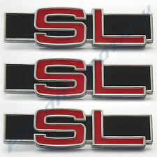 SL Rear Pillar & Boot Badges x3 NEW for LC 2600 Torana Holden LJ GTR XU1 SLR SS