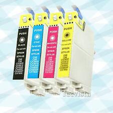 4 Ink for Epson 60 T060 Stylus C88 CX4800 CX5800F 1 set