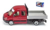 Coche Camión SIKU Lorry Mercedes Plataforma Escala 1:50 diecast miniaturas