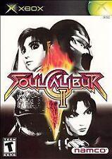 Soul Calibur II 2 (Microsoft Original Xbox, 2003) Complete - Free Shipping