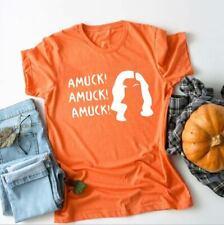 Gothic Halloween T-shirts I Smell Children Letter Shirt Print Crew Magic Tees