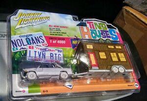 Johnny Lightning White Lightning CHASE 1996 Dodge Ram 1500 with Tiny House RARE