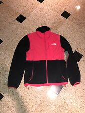 THE NORTH FACE DENALI WOMENS JACKET Black W/ Pink Size Small