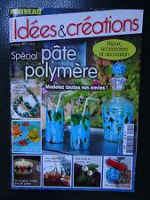 FIMO - PATE POLYMERE - IDEES ET CREATION - BIJOUX - ACCESSOIRES - DECORATION