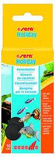Sera Holiday 10 Tabletten Wochenend und Ferienfutter Urlaubsfutter Aquarium