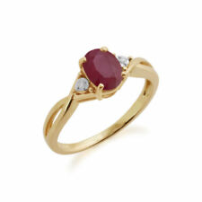 Oval Ruby Fine Rings Heating