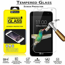 Tempered Glass Film Screen Protector for LG Optimus Zone 3/ K4/ Spree/ Rebel LTE