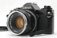 [NEAR MINT++++] Canon AV-1 35mm SLR Film Camera w/50mm FD lens from JAPAN