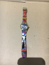 1994 Swatch Stop Watch SSC100 LOS ANGELES 1932 Swiss Unisex Quartz Originals