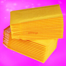 10pcs Kraft Bubble Mailers Padded Envelopes Shipping Bags Self Seal 110x150mm