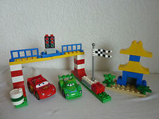 LEGO DUPLO THE CARS-Set 5819-corsa a Tokio-Carla + McQueen