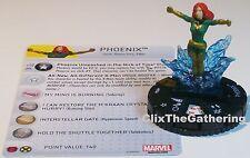 PHOENIX #053A Uncanny X-Men Marvel HeroClix Super Rare