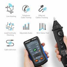 Network Cable Tester Wire Tracker Probe Kit Rj45 Rj11 Telephone Bnc Lan Finder