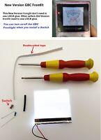 New Version  Frontlit Frontlight Front Light Kit For Nintendo Game Boy Color GBC