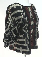 DENIM & SUPPLY Sweater Aztec Southwestern Cropped Dolman Women's XS
